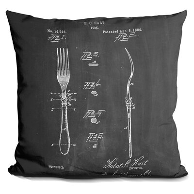 Castlewood Fork Throw Pillow