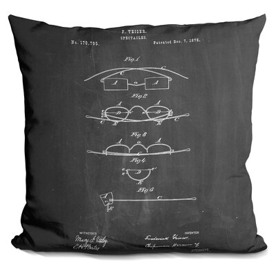 Charters Towers Spectacles Throw Pillow