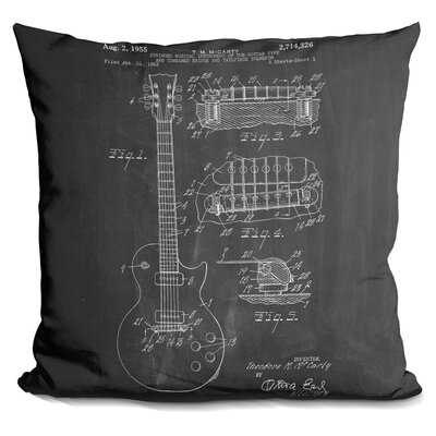 Camron Guitar Throw Pillow