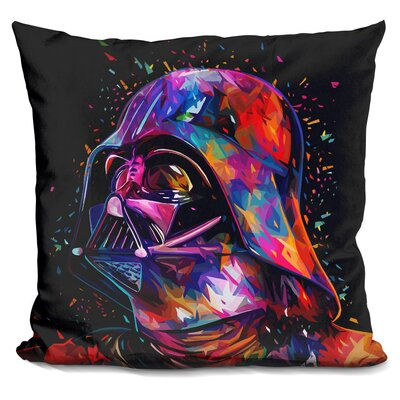 Father Throw Pillow Color: Black