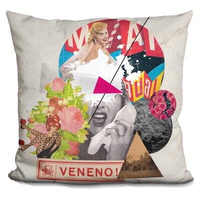 Veneno Throw Pillow