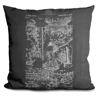 Chalfant Houdini Diver Suit Throw Pillow