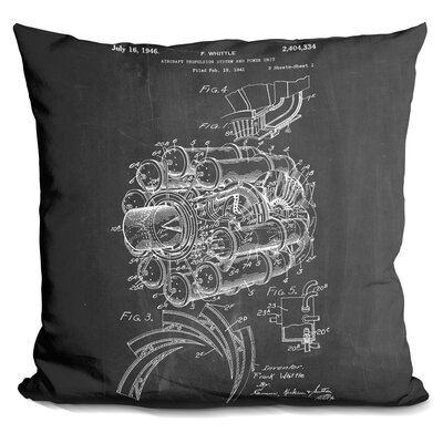 Chambers Jet Engine Throw Pillow