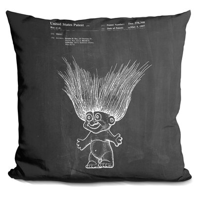 Troll Throw Pillow