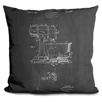 Chambless Kitchen Mixer Throw Pillow