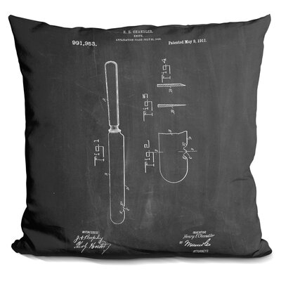 Chamlee Knife Throw Pillow