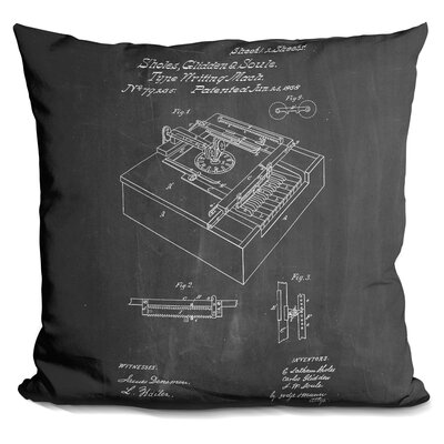 Chasteen Typewriter Throw Pillow