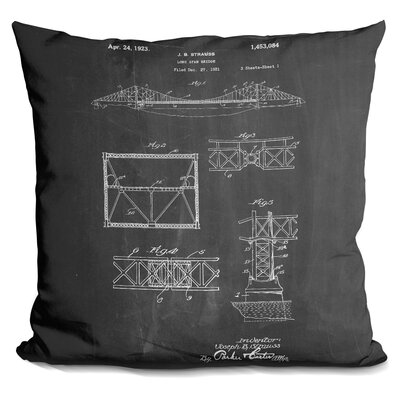 Chamorro Long Span Bridge Throw Pillow