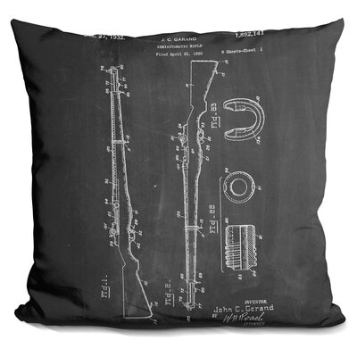 Chan M Rifle Throw Pillow