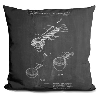 Channel Measuring Throw Pillow