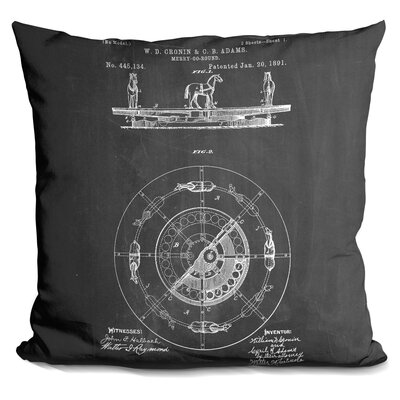 Channell Merry Go Round Throw Pillow