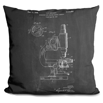 Chaparro Microscope Throw Pillow