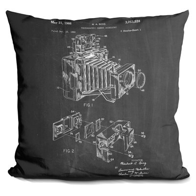 Chappelle Photographic Camera Accessory Throw Pillow