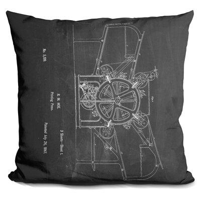 Chapple Printing Press Throw Pillow