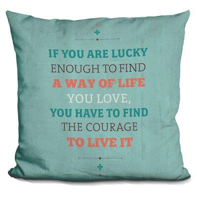 Gillon A Way of Life Throw Pillow