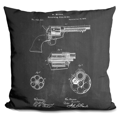 Revolver Ch Throw Pillow
