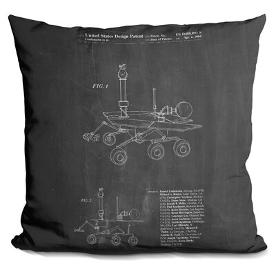 Charlebois Rover Throw Pillow