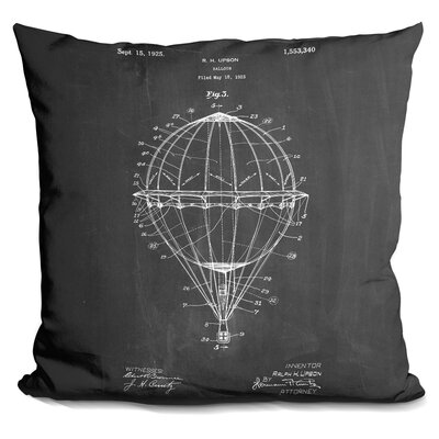 Cassity Ballon Throw Pillow