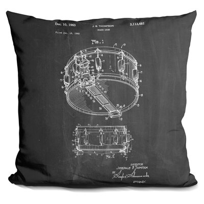 Charpentier Snare Drum Thompson Throw Pillow
