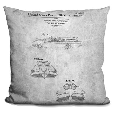 Chenoweth Automobile Print Throw Pillow