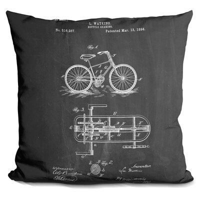 Canas Bicycle Throw Pillow