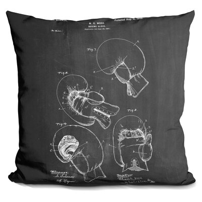 Castelli Boxing Glove Throw Pillow