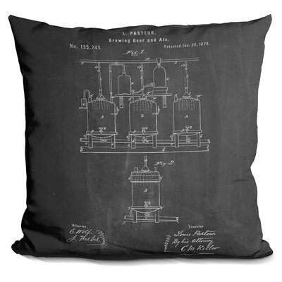 Castello Brewing Throw Pillow