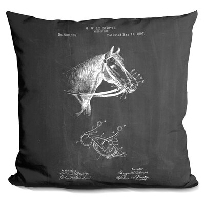 Castellon Bridle Brit Throw Pillow