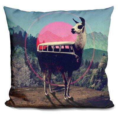 Lama Throw Pillow