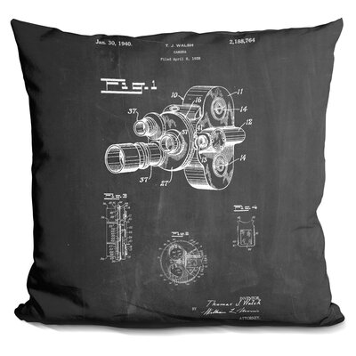Castiglione Camera Walsh New Throw Pillow