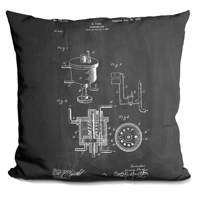 Castille Carbureter Throw Pillow