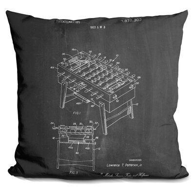 Castleberry Fooseball Throw Pillow