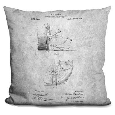 Chesser Musical Instrument Print Throw Pillow