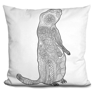 Pehrson Groundhog Throw Pillow