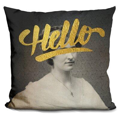 Cornette Hello Throw Pillow