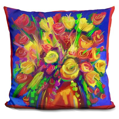 Flowers 215 Throw Pillow