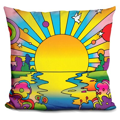 Corinna Sun Throw Pillow