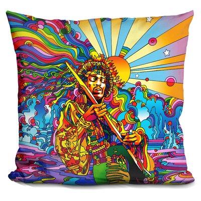 Jimi Color Throw Pillow