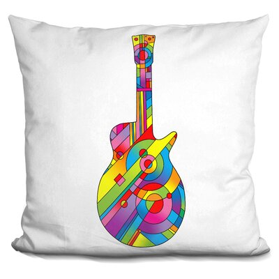 Corktown Guitar Throw Pillow