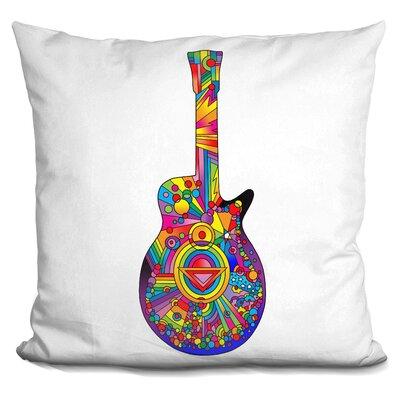 Corktown Guitar Throw Pillow