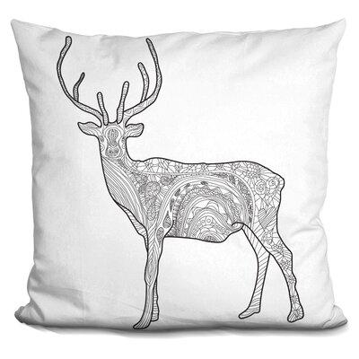 Leitner Deer Throw Pillow