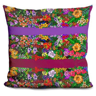 Kvilleflowers Throw Pillow