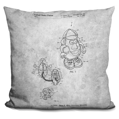 Cavanaugh Mister Potato Head Print Throw Pillow