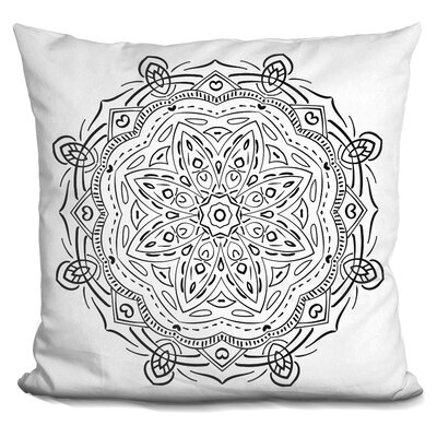 Chiasson Mandalaaa Throw Pillow