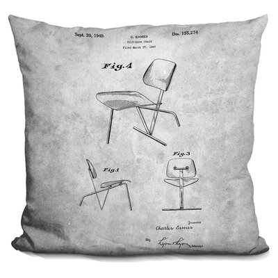 Chaffins Chair Print Throw Pillow