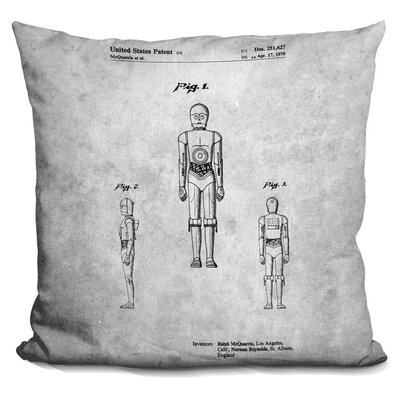 Cpo Print Throw Pillow