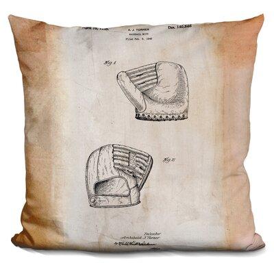 Cassella B Glove Throw Pillow Color: Beige