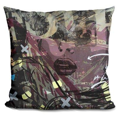 Sometimes Free Throw Pillow