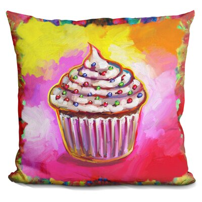 Corinna Cupcake Throw Pillow
