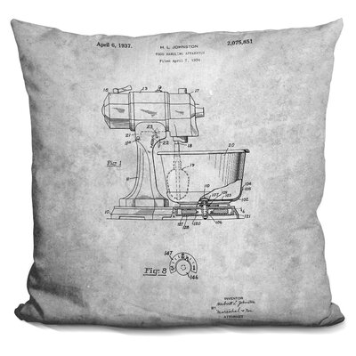Catoe Mixer Print Throw Pillow